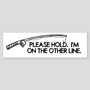 Other Line Fishing Fish Fishe Sticker (Bumper)