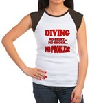 Diving - No Shirt, No Shoes, Women's Cap Sleeve T