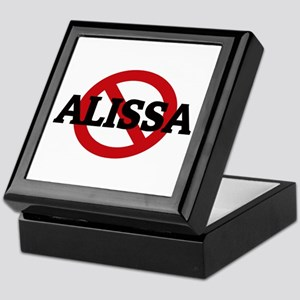 Anti-Alissa Keepsake Box