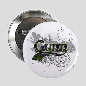 "Gunn Tartan Grunge 2.25"" Button"