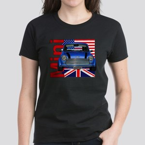 Mini Flags 2 Women's Dark T-Shirt