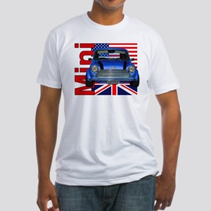 Mini Flags 2 Fitted T-Shirt