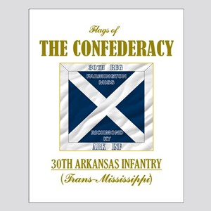 30th Arkansas Infantry Small Poster