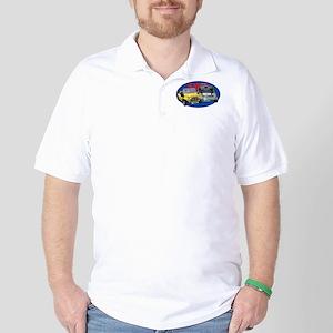 Mini-Moke Oval Golf Shirt