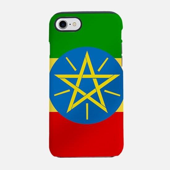 Flag of Ethiopia iPhone 7 Tough Case