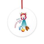 Prince Baby-Boy Ornament (Round)