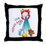 Prince Baby-Boy Throw Pillow