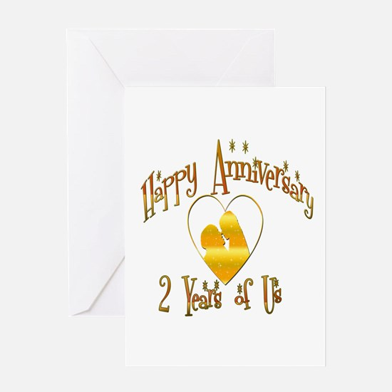 Funny 2nd wedding anniversary Greeting Card