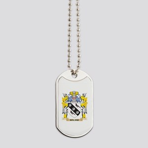Roland Family Crest - Coat of Arms Dog Tags