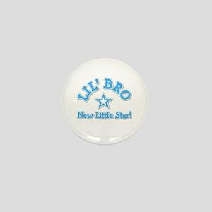 Lil' Bro New Star Mini Button