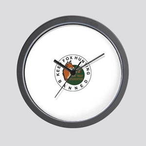 Fox Trust Foundation Wall Clock