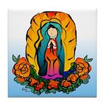 La Virgen de Guadalupe Tile Coaster