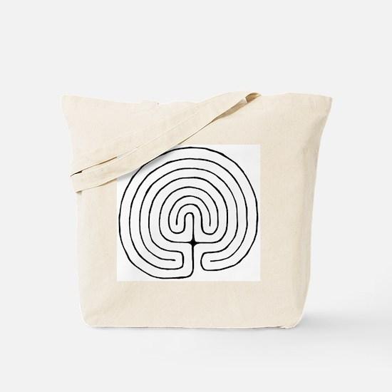 Funny Labyrinth Tote Bag