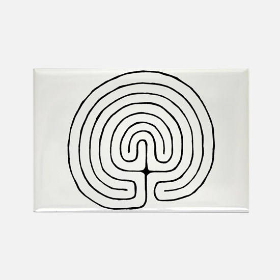 Funny Labyrinths Rectangle Magnet