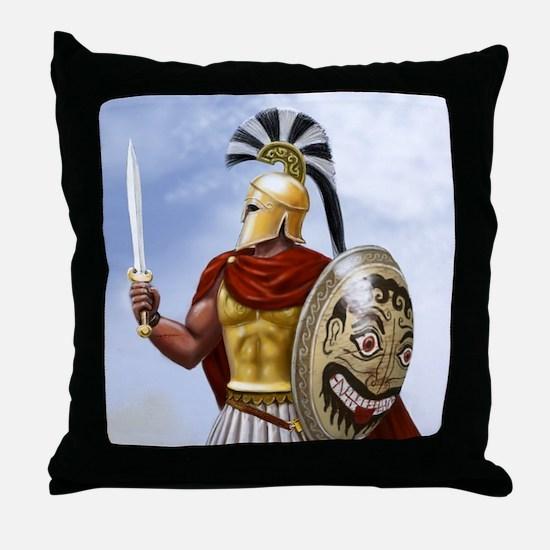 Spartan Throw Pillow