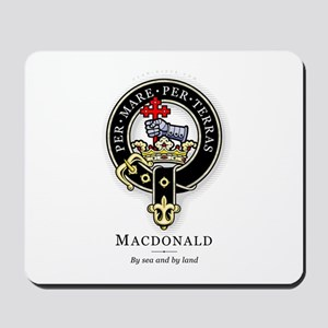 Clan MacDonald Mousepad