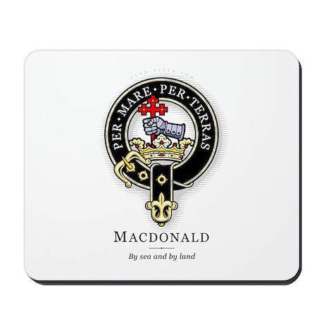 Clan MacDonald Mousepad
