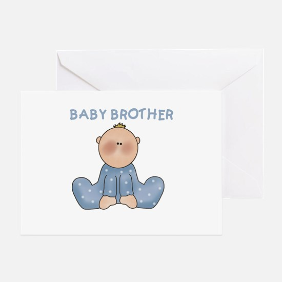 Baby Brother Greeting Card