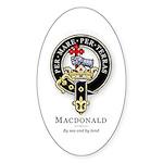 Clan MacDonald Oval Sticker