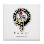 Clan MacDonald Tile Coaster