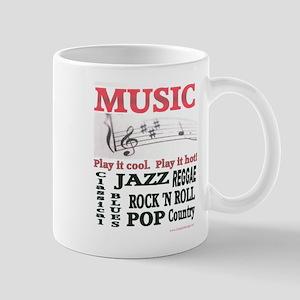 MUSIC ABSTRACT Mug