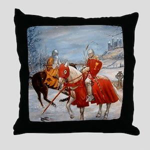 Perceval's Trance Throw Pillow