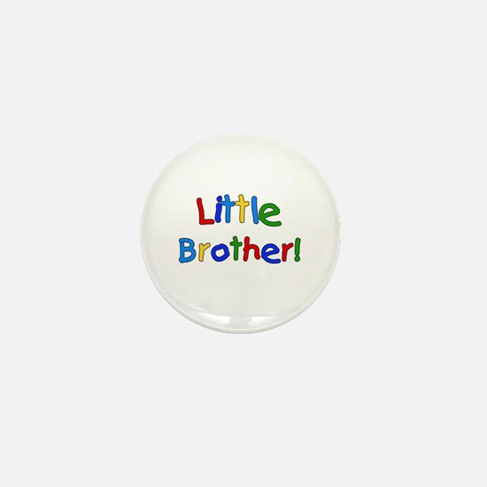 Bear Little Brother Mini Button