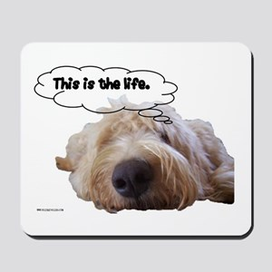 This is the life. Mousepad