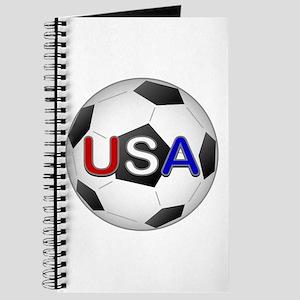 USA Soccer Ball Journal