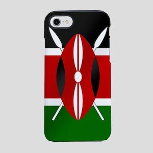 Flag of Kenya iPhone 7 Tough Case