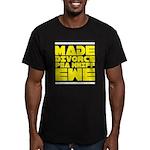 Made Divorce Men's Fitted T-Shirt (dark)