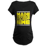 Made Divorce Maternity Dark T-Shirt
