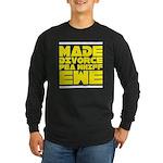 Made Divorce Long Sleeve Dark T-Shirt
