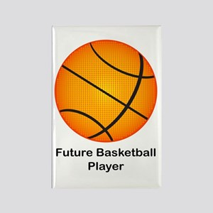 Future Basketball Rectangle Magnet