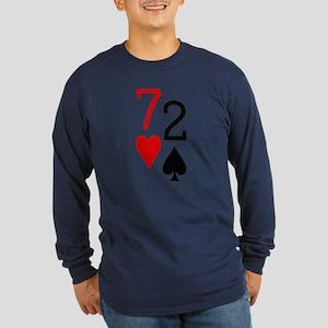 7h2s Long Sleeve Dark T-Shirt