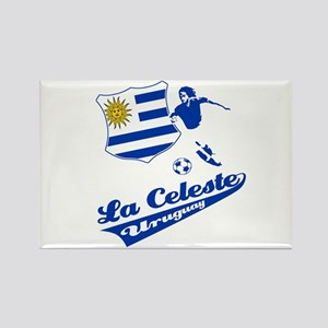 Uruguayan soccer Rectangle Magnet