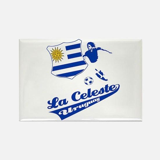 Uruguayan soccer Rectangle Magnet