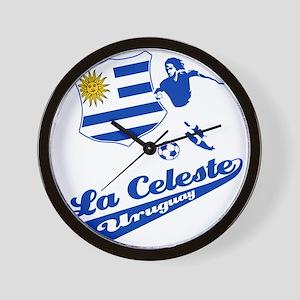 Uruguayan soccer Wall Clock
