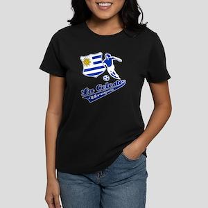 Uruguayan soccer Women's Dark T-Shirt