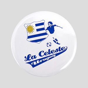 "Uruguayan soccer 3.5"" Button"