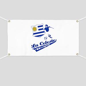 Uruguayan soccer Banner