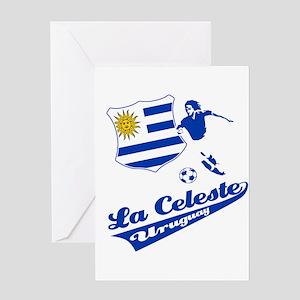 Uruguayan soccer Greeting Card