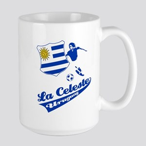 Uruguayan soccer Large Mug