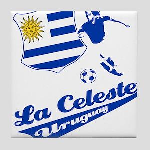 Uruguayan soccer Tile Coaster
