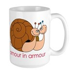 Amour In Armour Large Mug