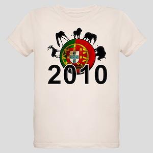 Portugal World Cup Organic Kids T-Shirt