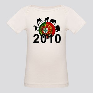 Portugal World Cup Organic Baby T-Shirt
