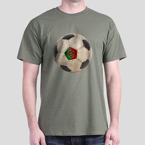 Portugal Football Dark T-Shirt