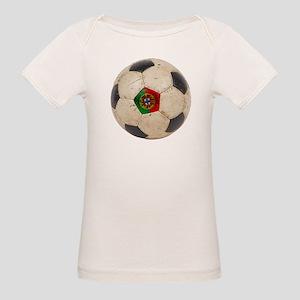 Portugal Football Organic Baby T-Shirt