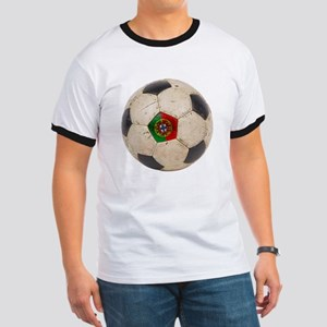 Portugal Football Ringer T